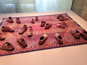 """Naji Kamouche """"Caresser l'errance d'un pas oublié"""" 2005 Collection frac, Alsace, Sélestat"""