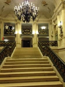 Escalier de la Comédie Française
