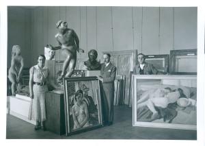 © Droits réservés / Archives des Musées nationaux «L'espionne aux tableaux»