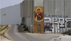 Notre Dame qui fait tomber les murs, Manoël Pénicaud, Bethléem, 2014, MuCEM/IDEMEC  ©MuCEM/IDEMEC/Manoël Pénicaud.