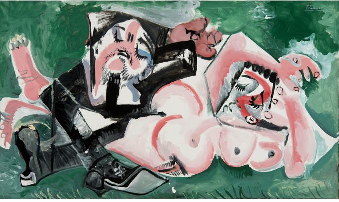 Pablo Picasso  Les Dormeurs, 1965 Landau Fine Art