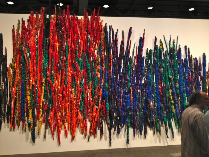 Sheila Hicks The Treaty of the Chromatic Zones, 2015