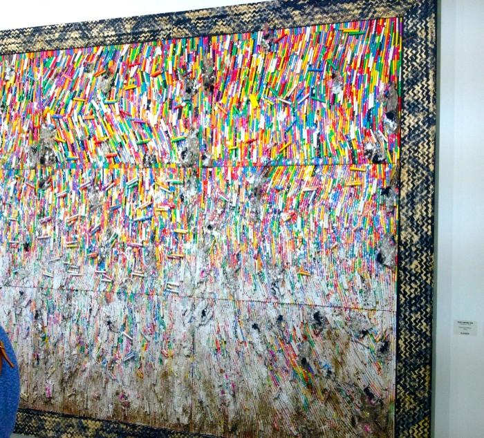 Pascale Marthine Tayou Charcoal Frasco, 2015 galeriacontinua