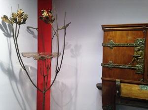 Alberto Gerardi (1889-1965) Porte-fleurs vers 1920