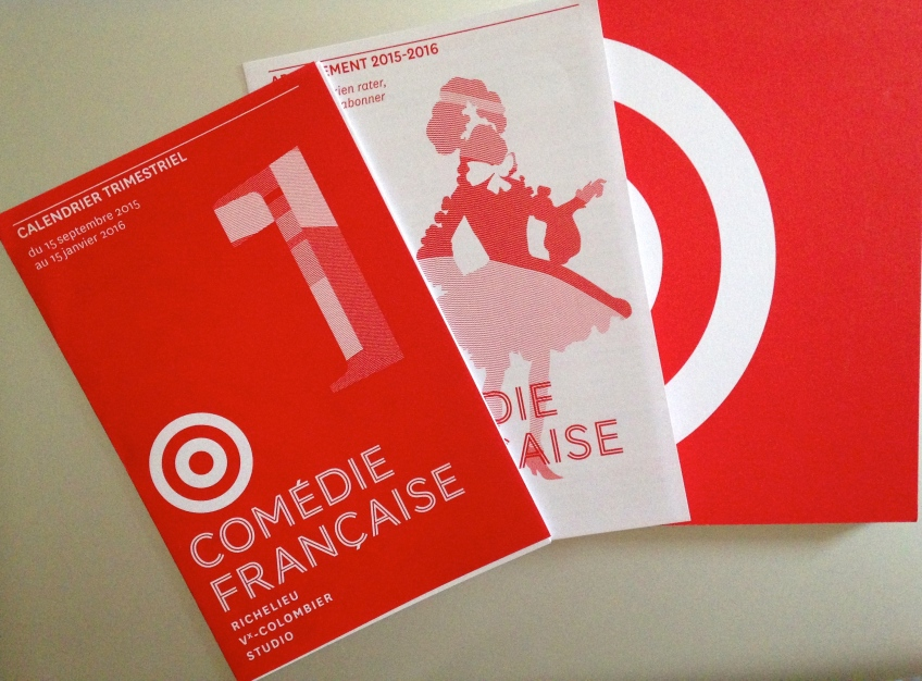 Calendrier Comedie Francaise.Comedie Francaise The Gaze Of A Parisienne