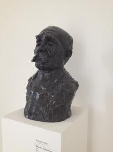 """Auguste Rodin (1840-1917) """"Georges Clémenceau"""" Bronze, 1911"""