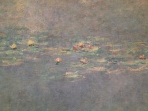 """Claude Monet (1840-1926) """"Les nymphéas"""" (détail) Musée de l'Orangerie"""