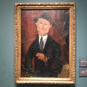 "Amedeo Modigliani (1884-1920) ""Paul Guillaume"""