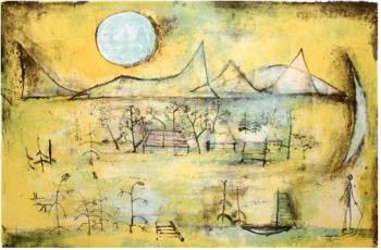 Montagnes et Soleils, 1951 Donation Nane Cailler Collection Musée d'art de Pully