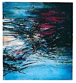 Les illuminations Arthur Rimbaud  Eaux fortes et Aquatinte Zao Wouki, 1967