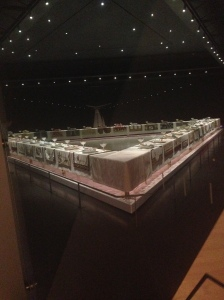Judy Chicago's The Dinner Party (1974-1979) Brooklyn Museum, le Elizabeth A. Sackler Center for Feminist Art