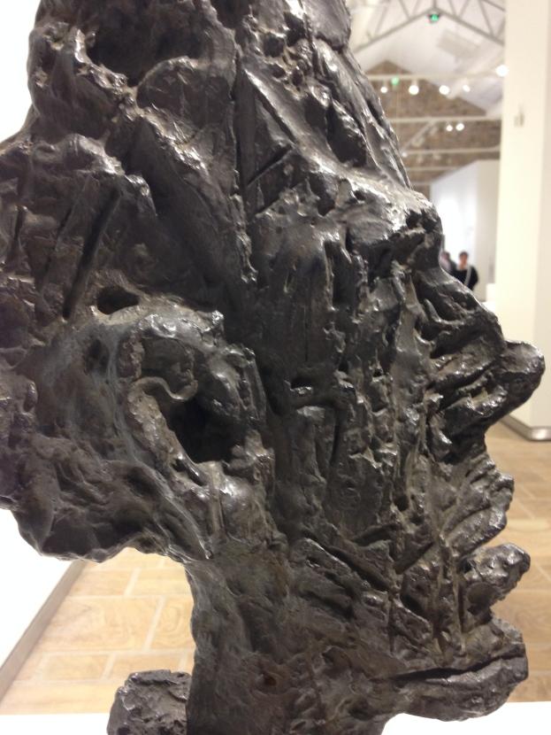 """Alberto Giacometti """"Grande tête mince"""" 1954 , Bronze"""