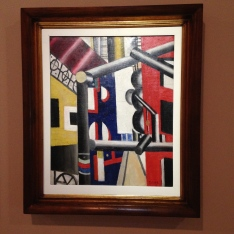 Fernand Léger The Scaffolding (First State) 1919 huile sur toile ; 64,9 x 53,8 cm Philadelphia Museum of Art : A.E. Gallatin Collection, 1952