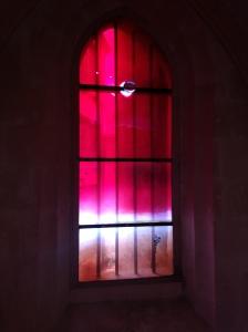 Vitrail d'Othoniel , Chapelle Mejan, Arles.