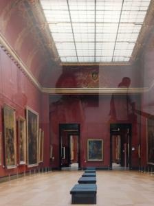 """Candida Höfer """"Musée du Louvre Paris"""" 2005 Photographie - Coll. Enea Righi, Italie"""