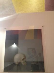 """Gerhard Richter """"Schädel"""" (crâne) 1983 Huile sur toile"""