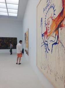 "Jean-Michel Basquiat ""Asbestos"" 1981-1982"