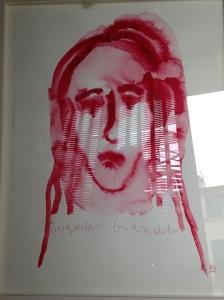 """Louise Bourgeois """"Eugénie Grandet"""" 2009 Gouache sur papier. 59,6 x 45,7 cm ©The Easton Foundation"""