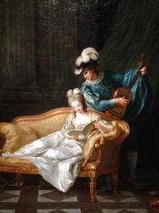 """Elisabeth Vigée Lebrun (1755-1842) """"Concert Espagnol"""" 1777. Huile sur toile Coll Part."""