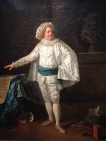 """Elisabeth Vigée Lebrun (1755-1842) """"L'acteur Pierre Louis Dubus (1721-1799) dit Préville"""" vers 1776 Comédie Française"""