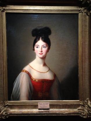 """Elisabeth Vigée Lebrun (1755-1842) """"Jeune femme dite Léontine de Rivière"""" 1831 Musée de l'Ermitage"""