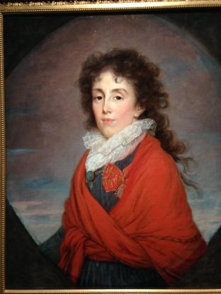"""Elisabeth Vigée Lebrun (1755-1842) """"La princesse Catherine Koutouzova (1754-1824)"""" Huile sur toile 1797 Moscou, musée d'etat des Beaux-Arts Pouchkine"""