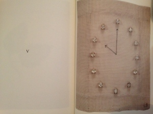"""Livre ouvert à p. V . Louise Bourgeois. """"Eugénie Grandet"""" (détail) 2009 ©The Easton Foundation"""