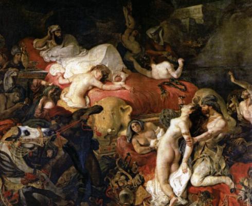 Delacroix La mort de Sardanapale ©Musée du Louvre