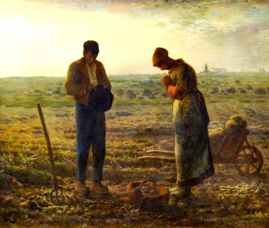 Millet L'Angelus ©Musée d'Orsay