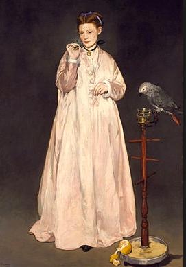 Manet La femme au perroquet, 1866 © Metropolitan Museum of Art à New York