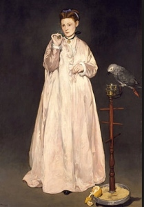 Manet La femme au perroquet, 1866 © Metropolitan Museum of Art à New York
