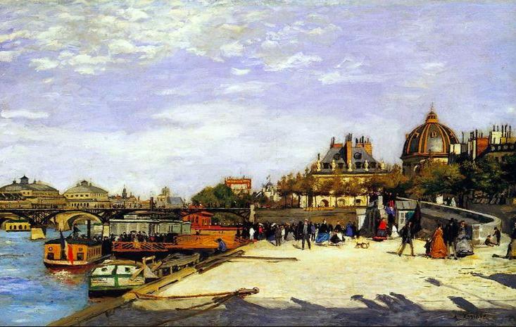 Renoir Le Pont des Arts ©Norton Simon Museum, Pasadena