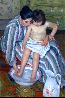 Maria Cassatt La Toilette de l'enfant © Art Intitute of Chicago