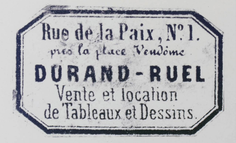 Galerie des Durand Ruel au 1 rue de la Paix photo Archives Durand-Ruel © Durand-Ruel & Cie.
