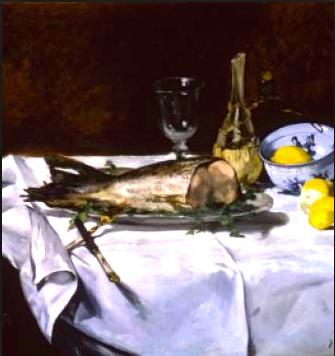 Manet Le Saumon