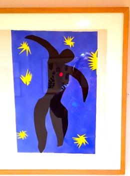 Henri Matisse Icare issu de Jazz, 1943-44