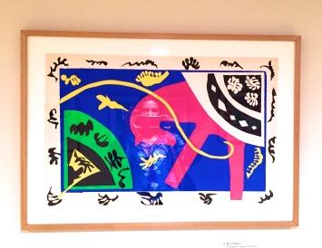Henri Matisse Le cheval, l'écuyère et le clown issu de Jazz, 1943-44