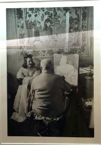 Henri Matisse et son Modèle Micaela Avogrado, Vence 1943 Henri Cartier-Bresson