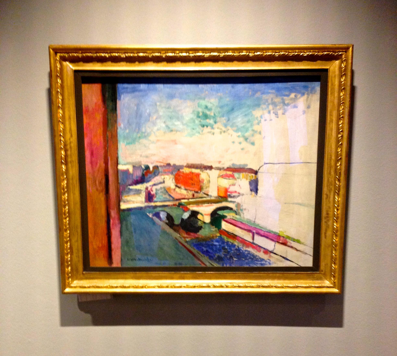 Henri Matisse Pont Saint Michel vers 1900 (Atelier Gustave Moreau)
