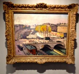 Albert Marquet le pont Saint Michel et le Quai des Grands Augustins- 1912