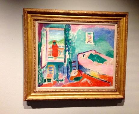 Henri Matisse Intérieur à Collioure (la sieste) 1905