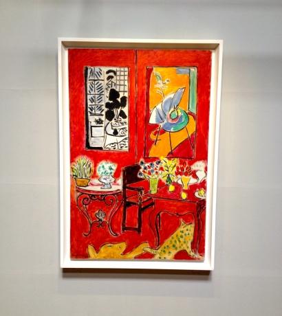 Henri matisse Grand intérieur rouge 1948