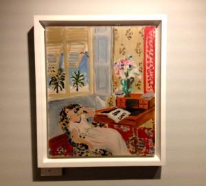 Henri Matisse Intérieur à Nice (la sieste) 1922