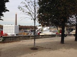 """Saint Gobain 350 ans Place de la Concorde Pavillons """"Sensations Futures"""""""