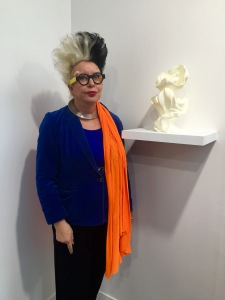 Orlan Galerie Michel Rein Fiac 2015