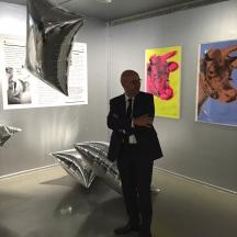 Fabrice Hergott - Directeur du Musée d'Art Moderne de la Ville de Paris. ©Thegazeofaparisienne