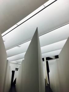 "François Morellet (Né en 1926) ""Seven corridors"" ©Elodie Codaccioni"