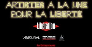Artistes à la une pour la liberté