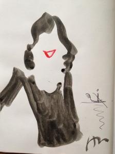Mon portrait par ©Aurore de La Morinerie