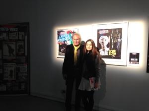 Peter Klasen et Emilie Renault ©Thegazeofaparisienne